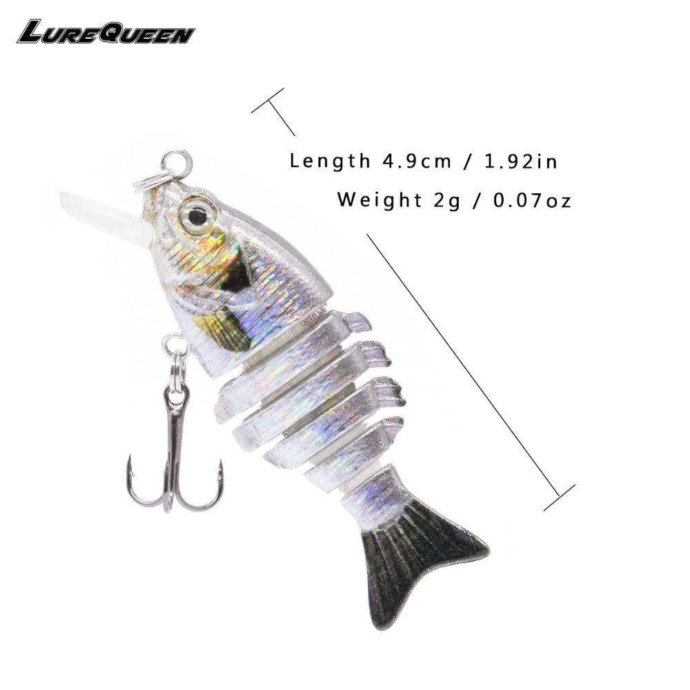 Мини-приманка для рыбалки LUREQUEEN