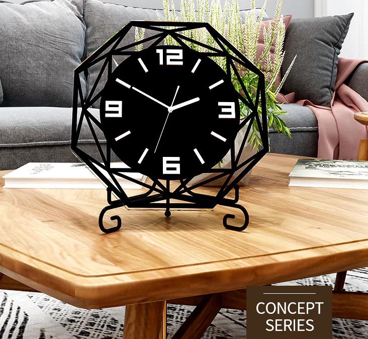 MEISD качественные, современный дизайн, черные настольные часы.