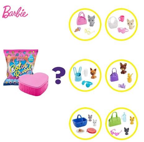 Цветной набор для домашних животных.Оригинальные аксессуары для Барби. Barbie